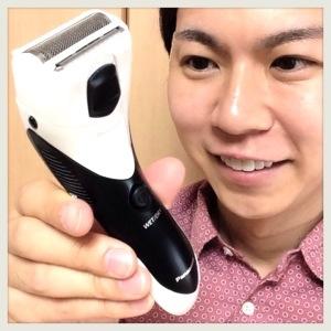 【理想のスネ毛】Panasonic ボディシェーバーを使ってみた