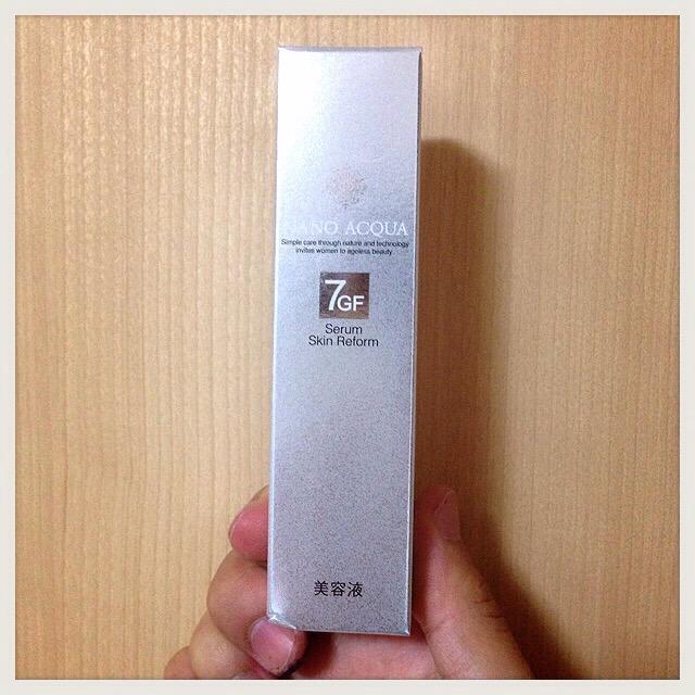 【人気上昇中!】ブースター美容液『ナノアクア 7GF セラム』-口コミ