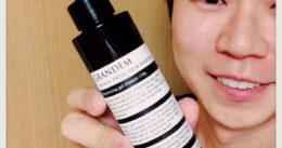 【これは凄い!】メンズコスメ『GRANDEM』保湿ジェル洗顔料-口コミ