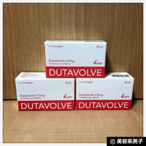【続行します!】プロペシアより効果的な『デュタボルブ』AGA治療薬