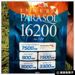【日焼け止め】科学的に証明された成分配合『インナーパラソル16200』