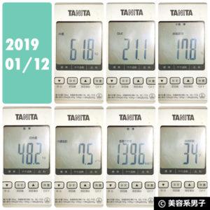 【正月太り回避!?】マキシマムストレングス ダイエット効果-84日目02
