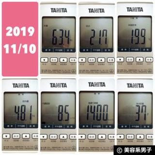 【体験95日目】海外プロテインを3ヵ月飲み続けた体格と数値の変化-04