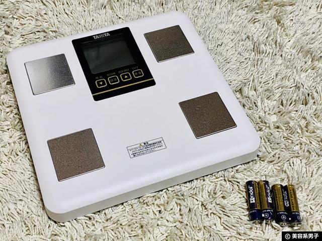 【タニタの体重計】体脂肪率・筋肉量がおかしい?正しい測り方-01