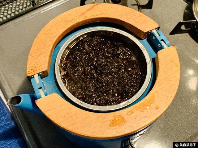 【楽天ランキング1位】黒烏龍茶ダイエットを効果的にする煮出し方法-05