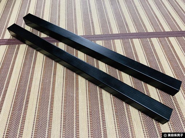 【筋トレ】amazon分離型バーベルスタンドを自作で使いやすくする方法-04
