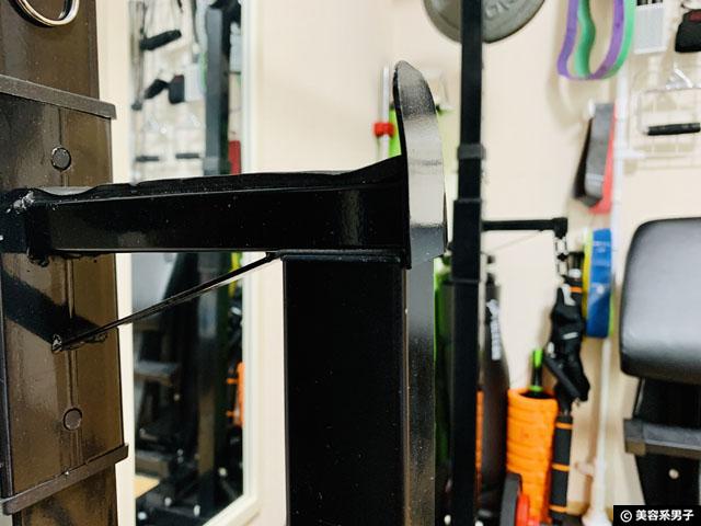 【筋トレ】amazon分離型バーベルスタンドを自作で使いやすくする方法-07