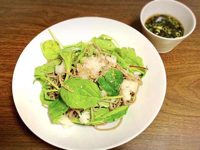【ダイエット】十割り蕎麦の効果を上げてお洒落に食べたい-レシピ-09