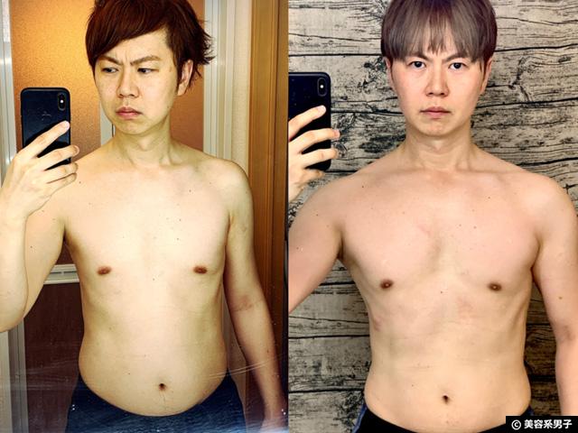 【筋トレ】運動ゼロから1年続けた見た目と筋肉量の変化(成果と効果)-03