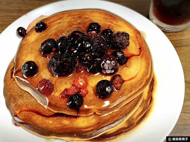 【筋トレ】プロテインパンケーキのパサパサをどうにかする作り方-06