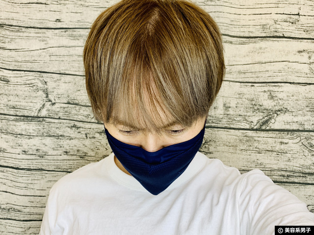 【アンダーアーマー】スポーツマスク新色サイズ感と購入方法-通販-09