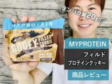 【筋トレ】中しっとりマイプロテイン フィルド プロテインクッキー-00