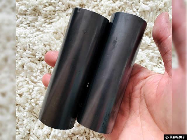 【筋トレ】150cmシャフトでバーベルスタンドを使いやすくする工夫-06