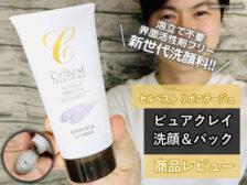 【泡立て不要】セルベスト化粧品 「ピュアクレイ洗顔&パック」感想-00